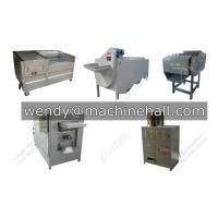 Wholesale automatic cashew nuts processing machine plant with shelling machine,roasting machine,peeling machine with high quality from china suppliers