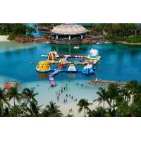 Wholesale Outdoor Adult Aflex Inflatable Water Park With Air Pump / Repair Material from china suppliers