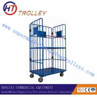 Wholesale Professional Warehouse Hand Trolley With Surface Handling Zinc + PP For Airport from china suppliers