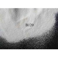 China White Clean Ceramic Shot Peening  B120 Zirconia Beads For Automotive Components for sale