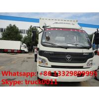 China foton 130hp cold room truck for sale, hot sale foton Aumark refrigerated truck for sale, 2019s new cold room truck for sale