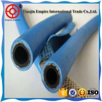 Wholesale Blue 15 mm  oxygen and acetylene delivery Twin Line Welding fiber woven flexible rubber Hose from china suppliers