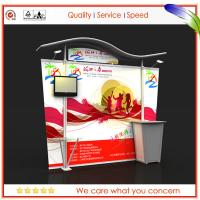 Wholesale 10ft Light Weight Modular Exhibition Stands , Modular Booth Display from china suppliers