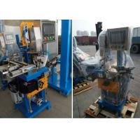Buy cheap Brazing center automatic feeding solder, brushing flux,rotate saw blade welding machine from Wholesalers