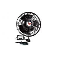 Wholesale DC 12V 6 Inch Oscillating Auto Fan With Switch for trucks / buses from china suppliers