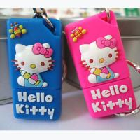 Wholesale 8GB Hello Kitty Cartoon USB Flash Drives, Cat Soft PVC USB Stick from china suppliers