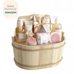 China Beautiful Body Care Bath Gift Set / Luxury Shower Gel Gift Set 150ml 200ml for sale