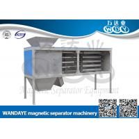 Wholesale Automatic Non Ferrous Metal separator , 5 Layer Magnetic Rod Cabinet For Dried-powder from china suppliers