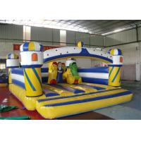 Wholesale Colorful Inflatable Bouncer , Giant Inflatable Bouncer With Obstacle from china suppliers