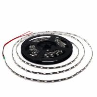 Narrow Side IP65 Waterproof 5730 LED Strip Flexible Light 12V Width 4.7mm Black / White PCB 60led/M for sale