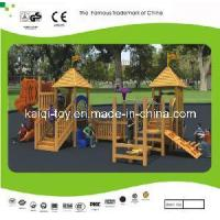 Wholesale Nice Looking Wooden Series Outdoor Playground Equipment (KQ10156A) from china suppliers
