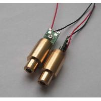 Buy cheap 532nm 1mw Green Dot Laser Diode Module For Laser Pointer , Laser Stage Light from wholesalers