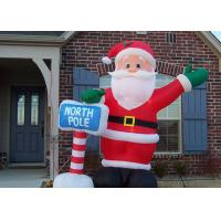 Buy cheap Custom Made Inflatable Advertising Products Inflatable Christmas Santa For from wholesalers