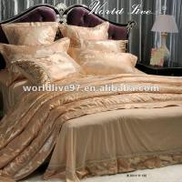 Wholesale 9 Piece Comforter Sets,Gold Silky Soft bedding sets,Bed-in-a-bag Queen Size from china suppliers