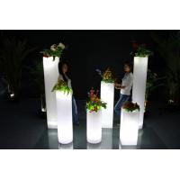 Wholesale Round Outdoor Garden Decor Glow In The Dark Planters 3 Years Warranty from china suppliers