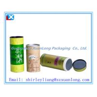 Wholesale Paper cardboard box tube for tea packaging from china suppliers