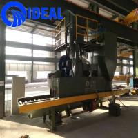 Quality Connecting plate small type shot blasting machine for surface improving for sale