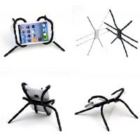 New design cheap novelty magical spider shaped PVC mobile phone holder stand for sale