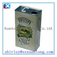 Wholesale 0.5L-5L olive oil tin cans from china suppliers