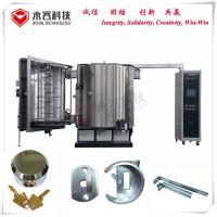 Wholesale Ion Metallization Pvd Vacuum Thin Film Coating Machine Multi Arc For Door Lock from china suppliers