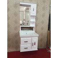 Buy cheap hung PVC Bathroom Cabinet / Mirrored Bathroom Cabinet With Legs 80X48/cm from Wholesalers