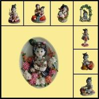 Wholesale Religious Statue/Hindu God Statue/Indian God/ Shri Krishna Leela from china suppliers