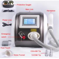 Wholesale 1064nm 532nm Laser Pigment Removal / Tattoo Removal Machine Multifunction 1000mj from china suppliers