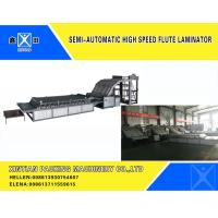 Buy cheap Cardboard Flute Laminator Corrugated Cardboard Carton Making Machine from wholesalers