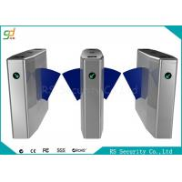 Quality Bi-Directional Wide Lane Flap Barrier Gate With IR Sensor And Anti-pinic for sale
