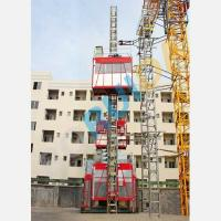 Wholesale OEM Single or Double Cage CH2000 Rack And Pinion Hoists Construction Material Lift Equipment from china suppliers