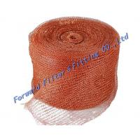 Standard Stainless Steel Woven Metal Mesh / Safe  strong Knitted Wire Mist Eliminator