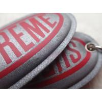 Custom Silver Reflective Screen Printed Keyring Chain For Promotion Gift for sale