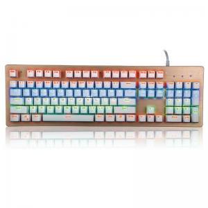 Wholesale Mechanical Gaming Multimedia Bezel Keyboard USB Interface104 Keys from china suppliers