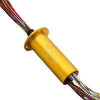 Wholesale Flexible Miniature Slip Ring Of 76 Circuits For Transfer Car With A Length Of 205.65mm from china suppliers