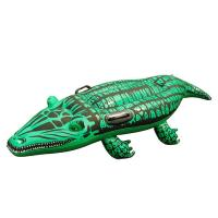 "Wholesale Super Safe Giant Gator Ride-On Pool Float , Inflatable Swimming Toy for Kids 51"" X 16"" from china suppliers"