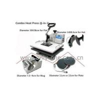 Wholesale 5 in 1 Combo Heat Transfer Machine from china suppliers