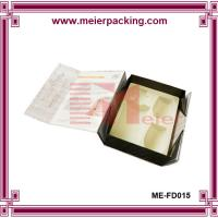 Wholesale Personalized presentation gift box for wine and cups, folding paper wine box ME-FD015 from china suppliers