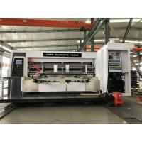 Wholesale High Speed Lead Edge Feeder Flexo Printer Slotter Die Cutter 380v 50kw Power from china suppliers