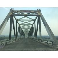 Wholesale Temporary Through Galvanized Steel Truss Bridge from china suppliers