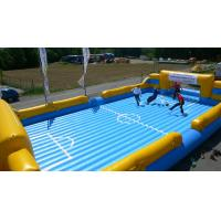 Wholesale Funny Inflatable Soccer Field , Inflatable Water Soccer Field for Adult from china suppliers