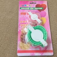 Wholesale Small and Large Pink Heart Shape Pompoms device Knitting Tool from china suppliers