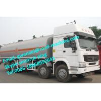 Buy cheap SINOTRUK Liquid Tanker Truck HOWO oil TANK truck 15000L 340 / 371 / 380HP  EUROII/III from wholesalers
