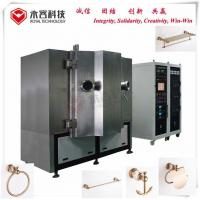Wholesale Rose Gold Thin Film Deposition Systems For Wall Mounted Brass Bathroom Accessories from china suppliers