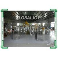 China Inflatable walking ball Transparent Walk on Water Bubble Ball on sale