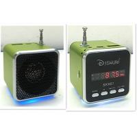 Wholesale Mini Digital LED Rechargeable Mini Speakers with TF Card, USB Flash Disk, FM Radio from china suppliers
