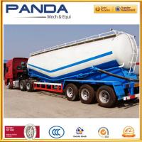 Buy cheap Customize 50T/60T dry bulk powder semi trailer, silo cement tanker trailer for sale from wholesalers
