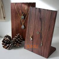 Wholesale Wooden Retail Mdf Jewellery Necklace Display Stands Handmade Craft from china suppliers