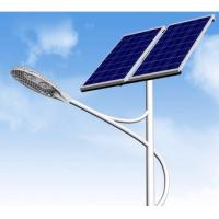 Wholesale 40W LED Integrated Led Solar Street Light 4300 Lumens With CE Approved from china suppliers