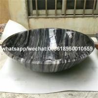 Ancient Wooden Marble round bathroom vessel sinks round wash basin for sale