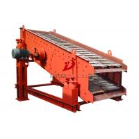 Carbon Steel Circular Vibrating Screen , Industrial Sand Sieving Machine